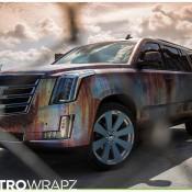 Cadillac Escalade Rust Chrome 1 175x175 at Cadillac Escalade Rust Chrome by Metro Wrapz