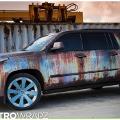 Cadillac Escalade Rust Chrome 2 175x175 at Cadillac Escalade Rust Chrome by Metro Wrapz