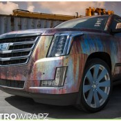 Cadillac Escalade Rust Chrome 5 175x175 at Cadillac Escalade Rust Chrome by Metro Wrapz