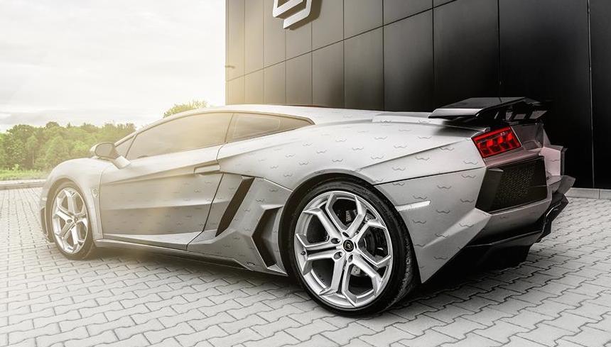 Custom Lamborghini Gallardo By Carlex Design