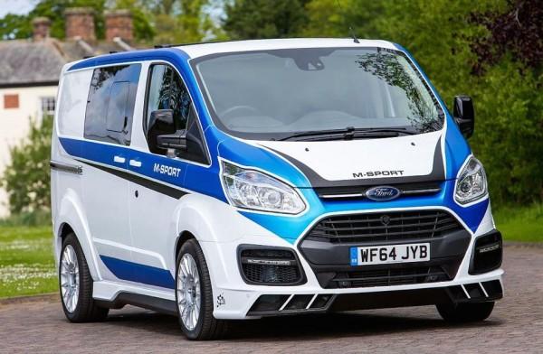 Ford Transit M Sport Carlex 0 600x392 at Ford Transit M Sport by Carlex Design