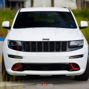 Jeep SRT8 Vossen 1 175x175 at Tricked Out Jeep SRT8 on Vossen Wheels