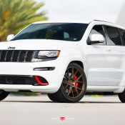 Jeep SRT8 Vossen 2 175x175 at Tricked Out Jeep SRT8 on Vossen Wheels