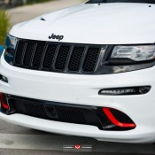Jeep SRT8 Vossen 4 175x175 at Tricked Out Jeep SRT8 on Vossen Wheels
