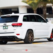Jeep SRT8 Vossen 6 175x175 at Tricked Out Jeep SRT8 on Vossen Wheels