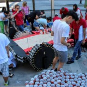 Jeep Wrangler Canstruction 5 175x175 at Jeep Wrangler 'Canstruction' Is an Homage to Canda
