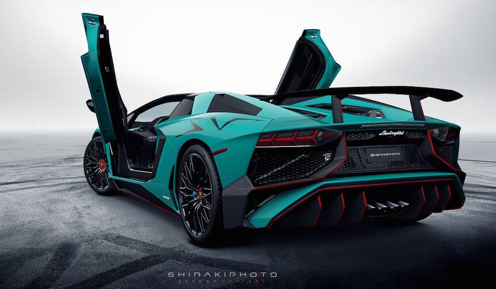 Car Paint Job Cost >> First Look: Lamborghini Aventador SV Roadster
