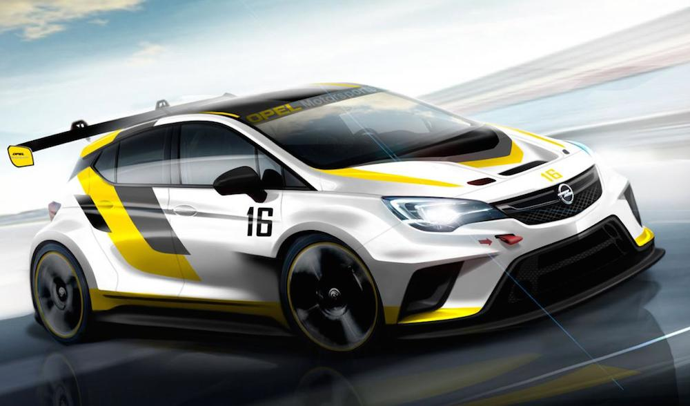 Opel Astra TCR prv 1 at IAA Preview: Opel Astra TCR