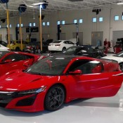 Red Acura NSX Spot 2 175x175 at 2x Production Acura NSX Spotted in the Wild