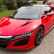 Red Acura NSX Spot 3 175x175 at 2x Production Acura NSX Spotted in the Wild