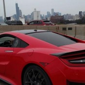 Red Acura NSX Spot 4 175x175 at 2x Production Acura NSX Spotted in the Wild