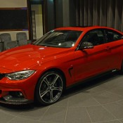 Red BMW 435i M Sport 1 175x175 at Red BMW 435i M Sport Stuns at BMW Abu Dhabi
