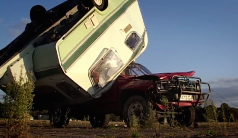 Top 10 Caravan Crashes at Top Gear Lists Top Caravan Crashes of Clarkson Era