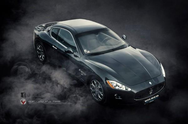 Vilner Maserati GranTurismo 0 600x398 at Vilner Maserati GranTurismo Is Dark and Moody