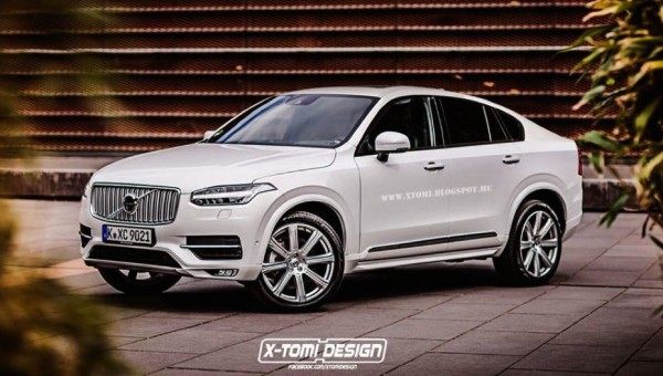 Volvo XC90 Coupe 600x340 at Rendering: Volvo XC90 Coupe