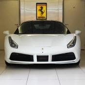 White Ferrari 488 GTB 2 175x175 at Ferrari 488 GTB Looks Rather Gorgeous in White