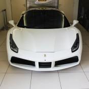 White Ferrari 488 GTB 6 175x175 at Ferrari 488 GTB Looks Rather Gorgeous in White