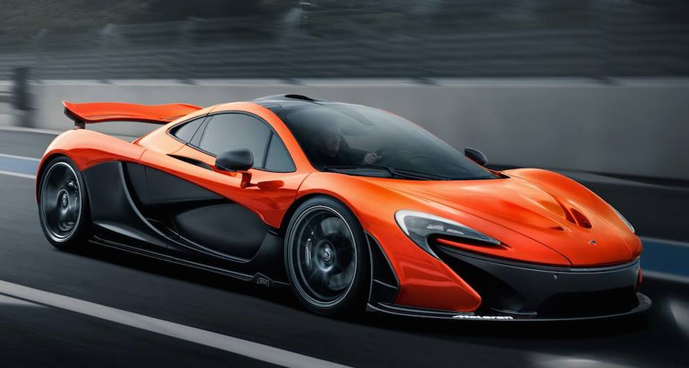 This Is The First Proper Two Tone Mclaren P1 Mso