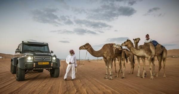 mercedes g63 6x6 desert 0 600x317 at Mercedes G63 AMG 6x6 Desert Photoshoot by GFWilliams