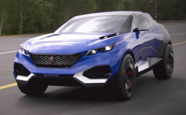 peugeot concept showoff 600x371 at Peugeot Show Off Their Crazy Concepts: SR1, Exalt, and Quartz