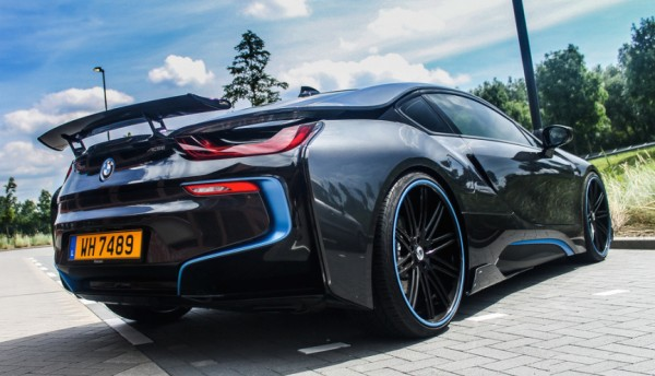 AC Schnitzer BMW i8 Spot 0 600x344 at AC Schnitzer BMW i8 Spotted on the Road