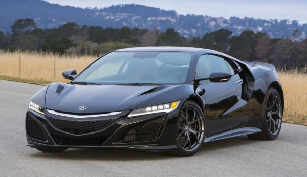 Acura NSX options list 0 600x346 at Options List Revealed for 2017 Acura NSX