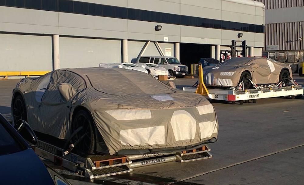 Bugatti Chiron Prototypes 1 at Bugatti Chiron Prototypes Sneak Out of L.A.