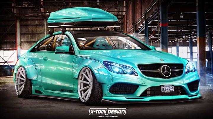 Virtual Tuning: Liberty Walk Mercedes E-Coupe