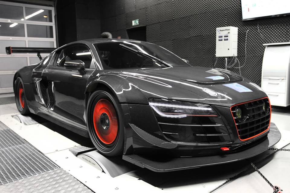 Audi R8 Gt3 Lms Conversion By Mcchip Dkr