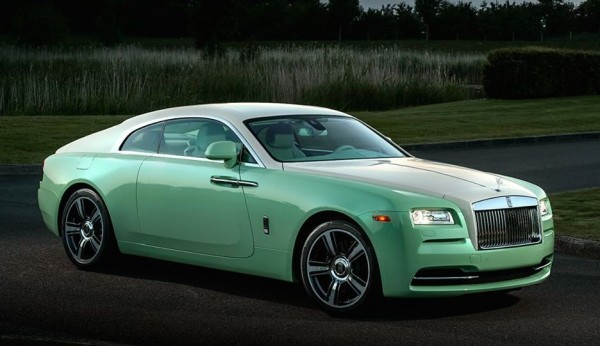 Rolls Royce Wraith Jade Pearl 0 600x346 at Official: Rolls Royce Wraith Jade Pearl Edition