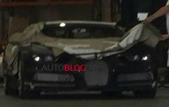 Bugatti Chiron Spied Wearing Heavy Camo