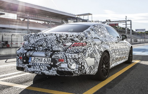c63 amg coupe teaser 1 600x382 at Fresh Teasers for 2016 Mercedes C63 AMG Coupe