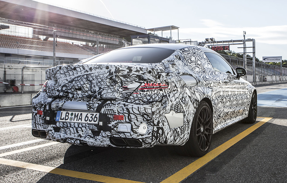 c63 amg coupe teaser 1 at Fresh Teasers for 2016 Mercedes C63 AMG Coupe