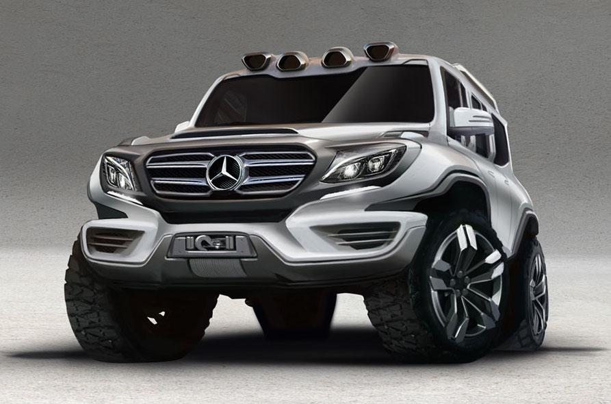 ARES Design Mercedes G63 0 at Rendering: ARES Design Mercedes G63 Concept