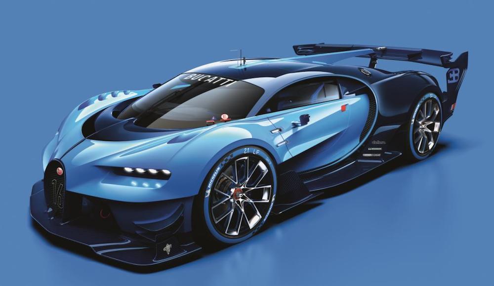 Bugatti Vision Gran Turismo 0 at Bugatti Vision Gran Turismo Unveiled
