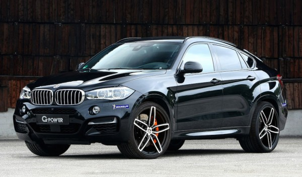 G Power BMW X6 M50d 0 600x353 at G Power BMW X6 M50d Gets 455 hp