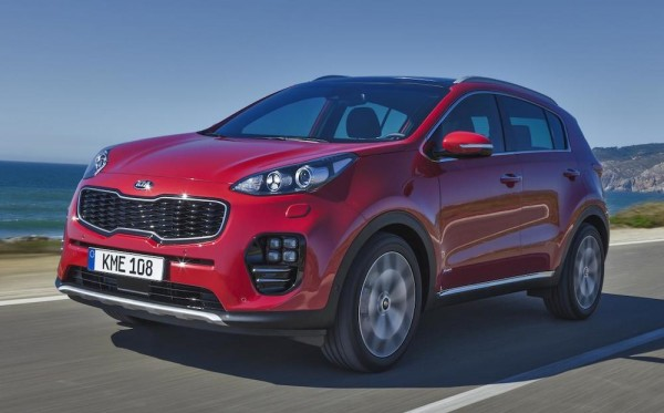 Kia Sportage IAA 0 600x373 at 2016 Kia Sportage Goes Official at IAA