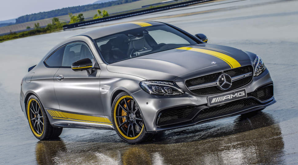 2017 C63 Amg Coupe Price >> Official: Mercedes-AMG C63 Coupe Edition 1