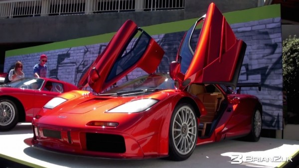 Million McLaren F1 600x338 at Up Close with $13.7 Million McLaren F1