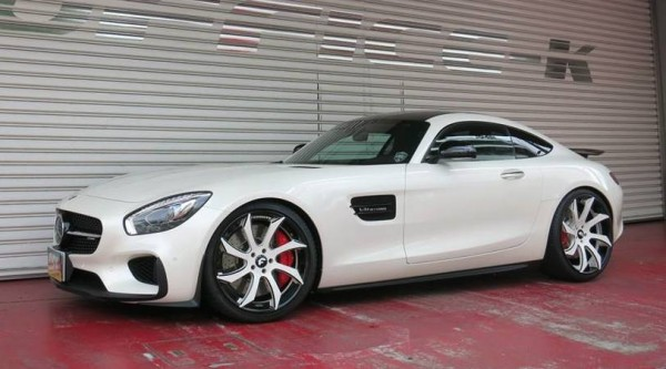 Office K Mercedes AMG GT 0 600x333 at Office K Mercedes AMG GT Edition 1