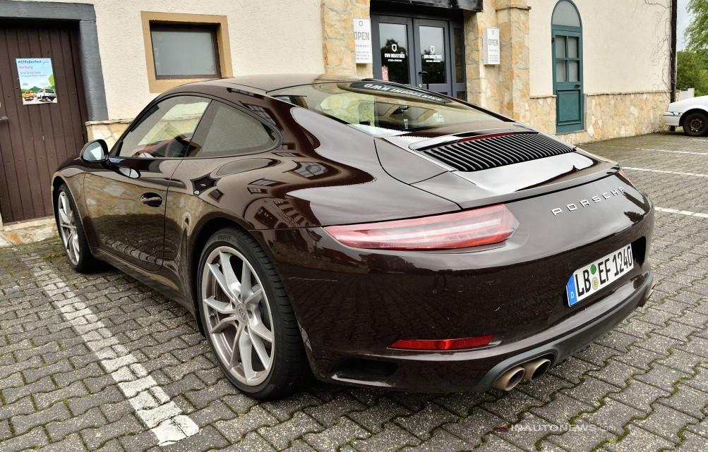 Porsche 991 Facelift spy 0 at Porsche 991 Facelift Caught Undisguised