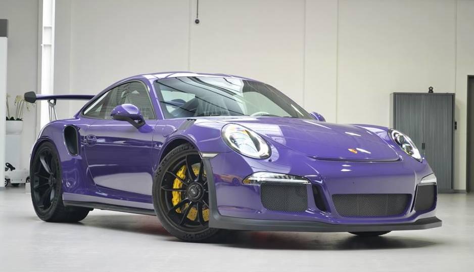 Gallery Ultraviolet Porsche 991 GT3 RS