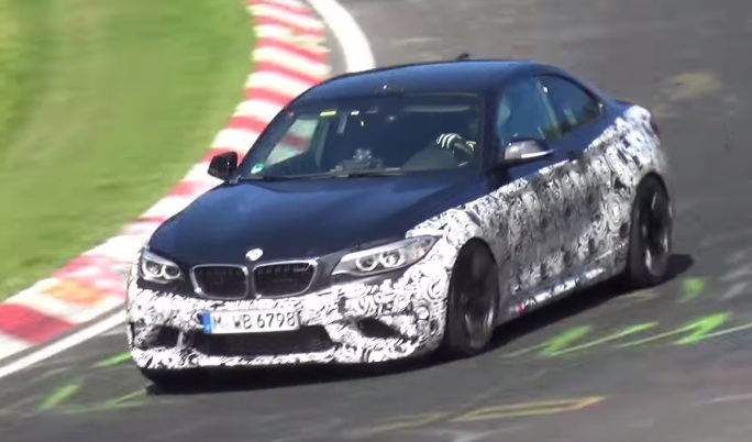 bmw m2 ring at BMW M2 Filmed in Action at the 'Ring