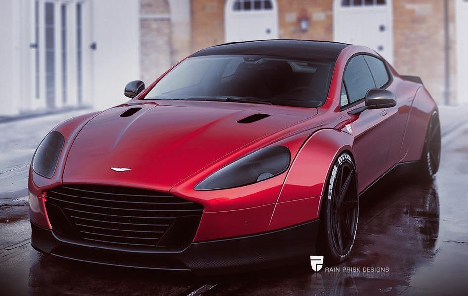 Virtual Tuning Aston Martin Rapide Wide Body
