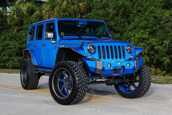 Blue Custom Jeep Wrangler 0 600x401 at Custom Jeep Wrangler by Extreme Performance
