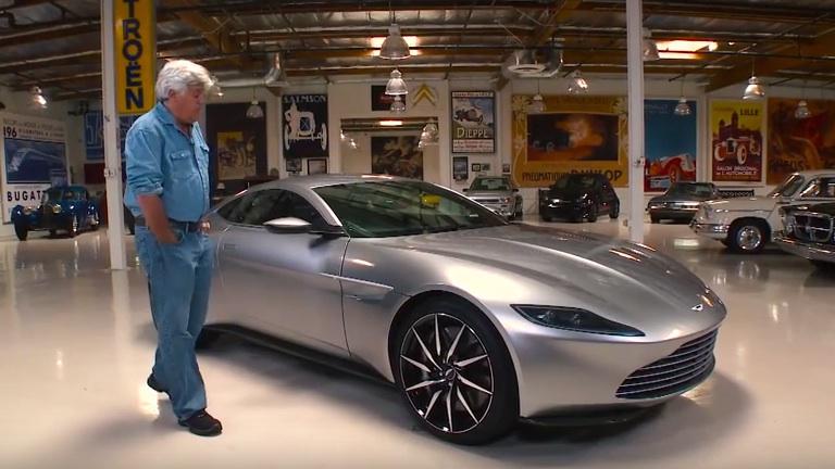 Jay Leno Drives Bond S Aston Martin Db10