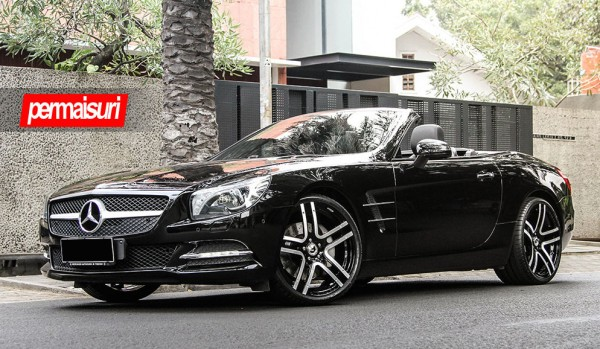 Mercedes SL Forgiato 0 600x349 at Mercedes SL on Forgiato Wheels by Permaisuri