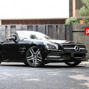 Mercedes SL Forgiato 1 175x175 at Mercedes SL on Forgiato Wheels by Permaisuri