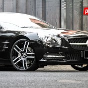 Mercedes SL Forgiato 4 175x175 at Mercedes SL on Forgiato Wheels by Permaisuri