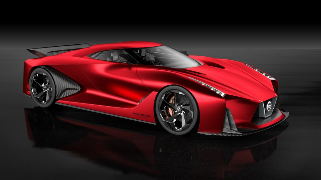 Nissan Vision GT 1 at Nissan at 2015 Tokyo Motor Show: Vision GT, Gripz and Teatro